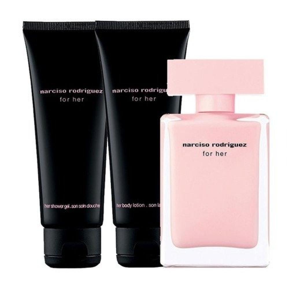 Narciso Rodriguez for Her Eau de Parfum 50ml 3 Gift Set خبير العطور