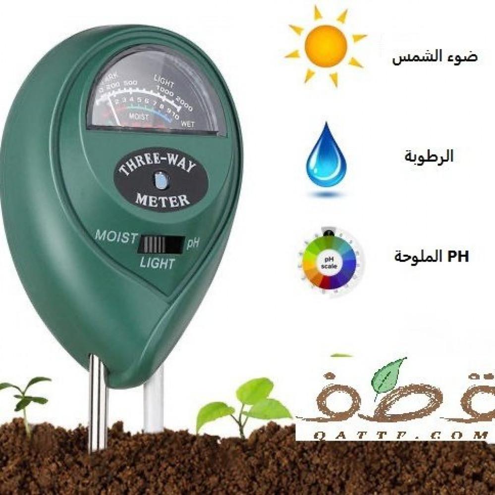 قياس التربة
