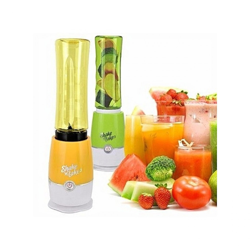 خلاط عصير و بروتين من شيك ان تك فائق القوة و التحضير مع علبتين