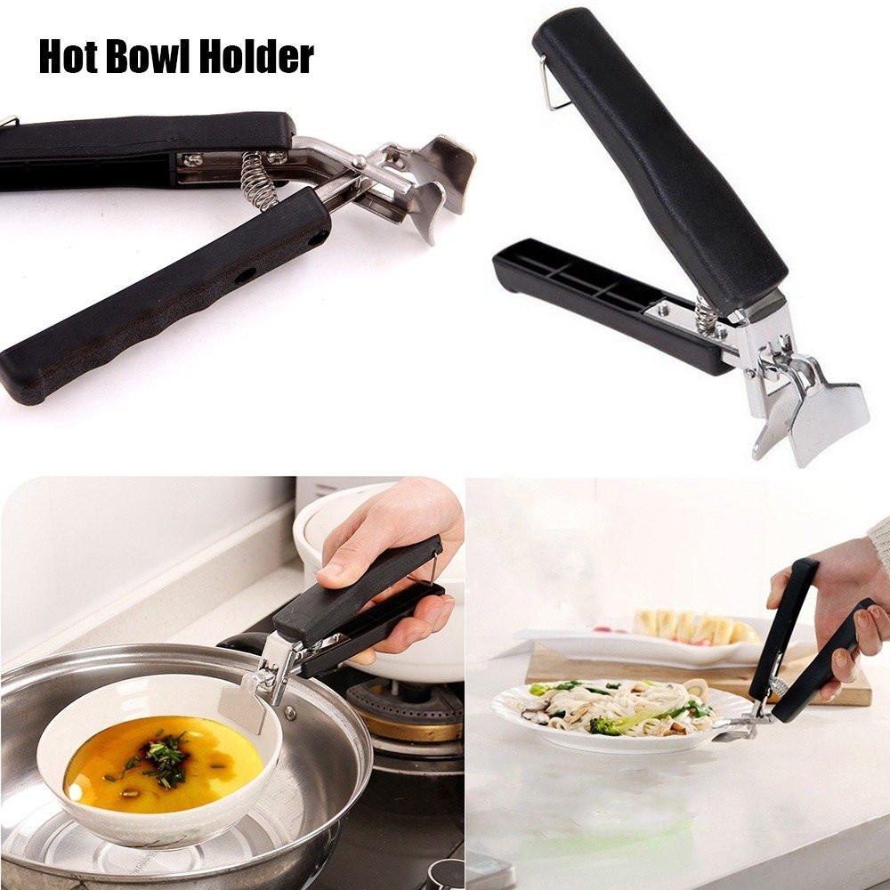 حامل ملقط طبق وعاء حار للاستخدام المنزلي والمطبخ