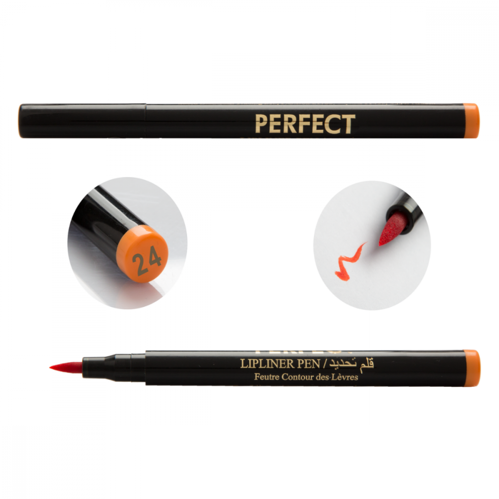 24-PERFECT Lip Liner Liquid Pen