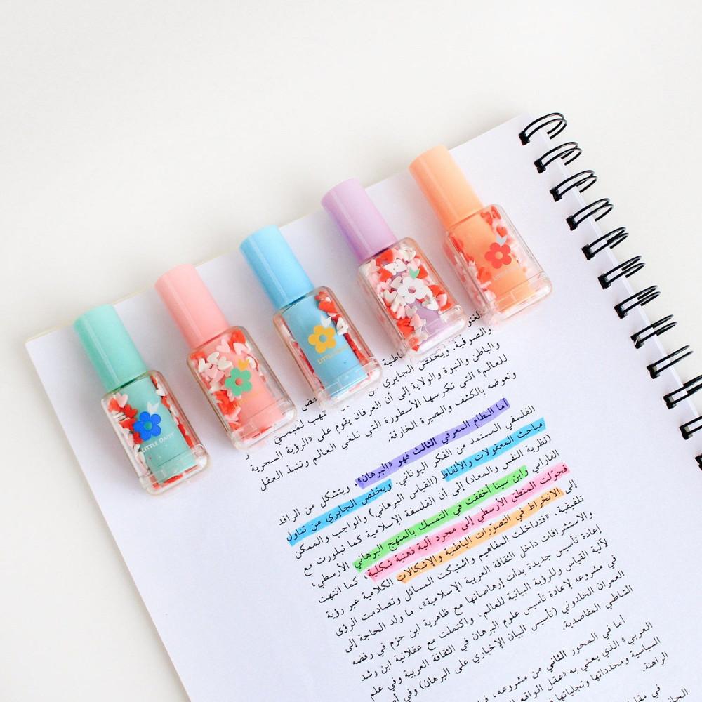 أقلام مدرسية هايلايتر أقلام تحديد أدوات مكتبية طريقة المذاكرة قرطاسية
