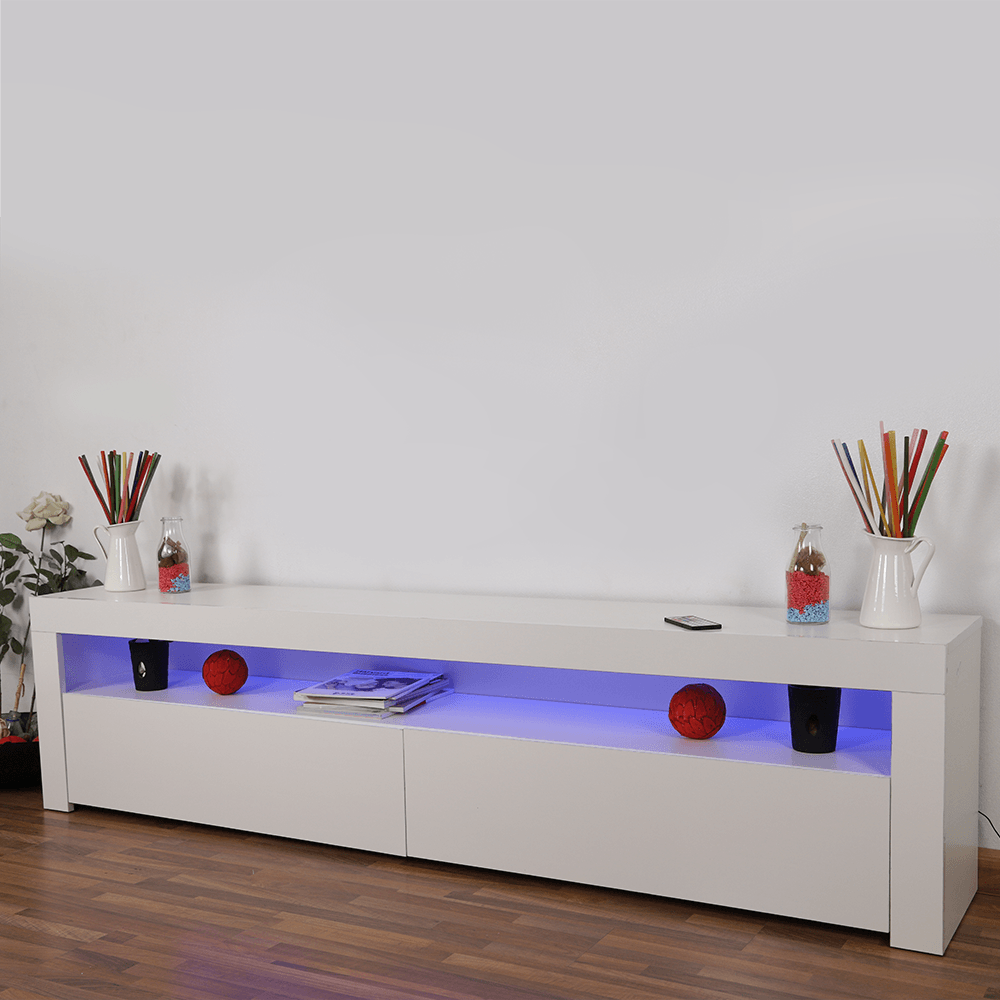 تجارة بلا حدود للأثاث المنزلي يقدم طاولة تلفاز خشبية ماركة NEAT HOME