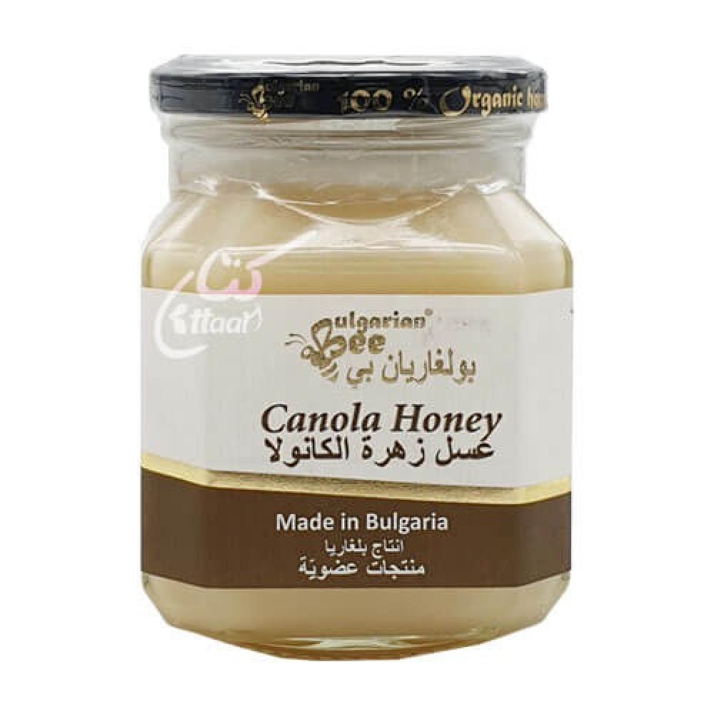 عسل زهرة الكانولا العضوي 450 جرام