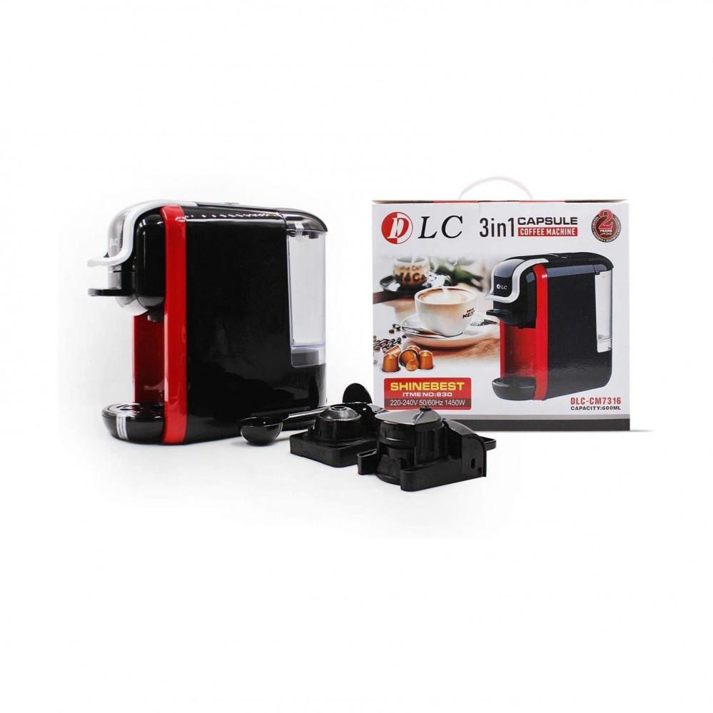 آلة صنع القهوة - ماكينة القهوة 3 في 1 DLC-CM7316