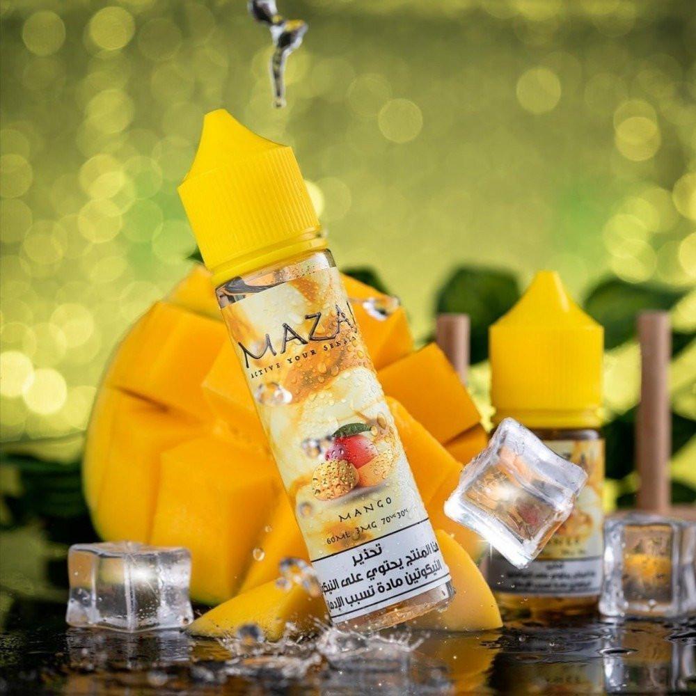 نكهة مزاج مانجو - MAZAJ Mango - 60ML -  نكهات فيب السعودية نكهات شيشة