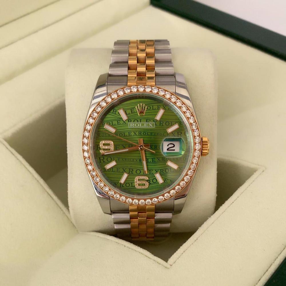 ساعة رولكس ديت جست اصلية ثمينة مستخدمة