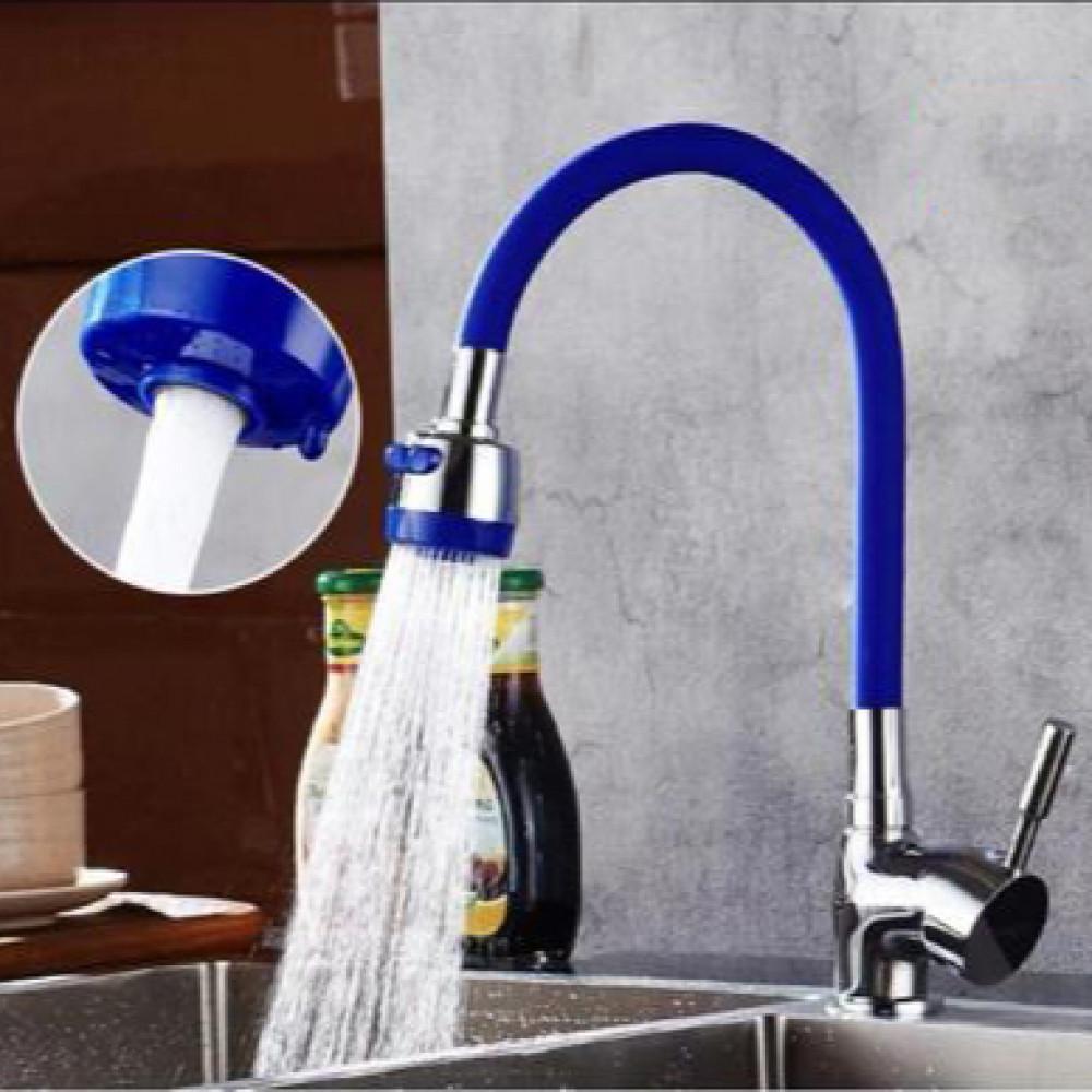 رقبة خلاط مطبخ  أزرق بلاستيك High Nash
