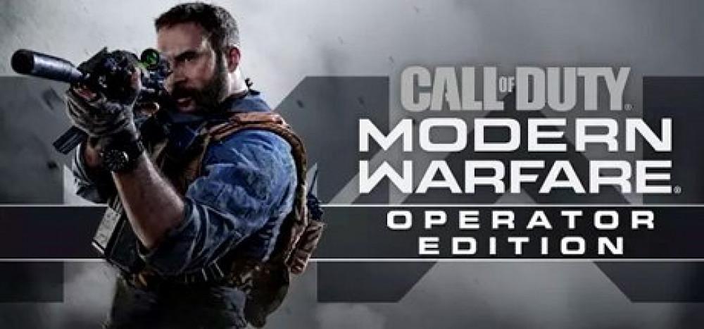 لعبة CALL OF DUTY MODERN WARFARE OPERATOR EDITION 2019 على الكمبيوتر