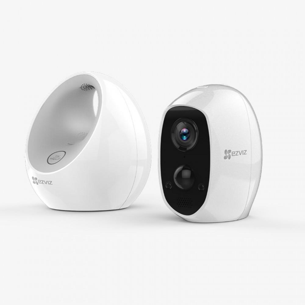 كاميرا C3A لاسلكية ببطارية مع جهاز W2D