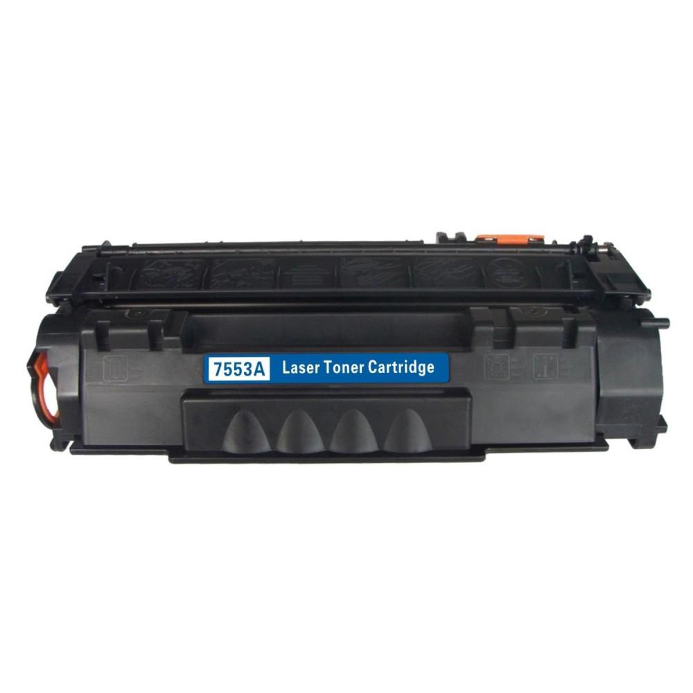 حبر طابعة HP أسود - TONER FQ Q7553A 53A BLACK