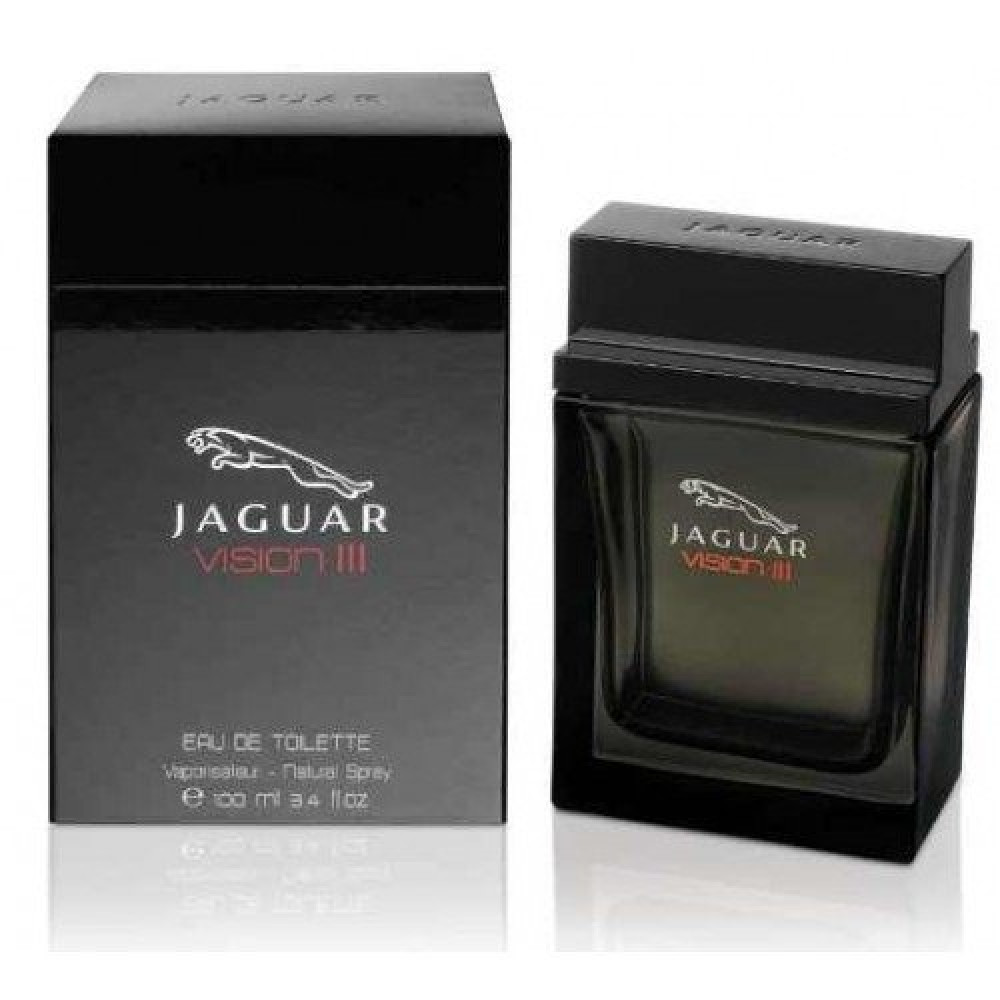 Jaguar Vision III Eau de Toilette 100ml خبير العطور