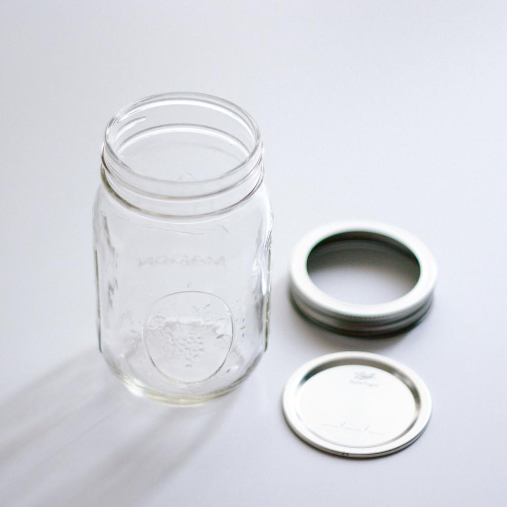 قارورة ميسون جار mason jar مايسون جار تخزين الحبوب أفكار فطور شوفان