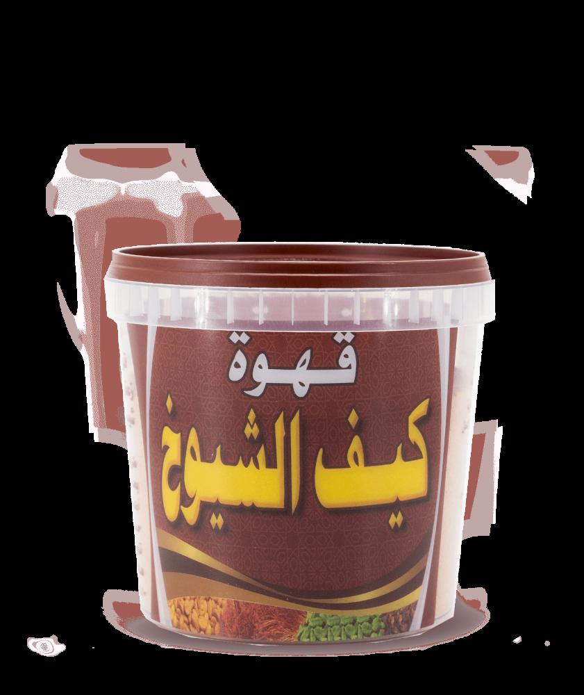 بياك-كيف-الشيوخ-قهوة-عربية-زعفران-قرنفل-شيبة-مستكه-500غ-قهوة-عربي