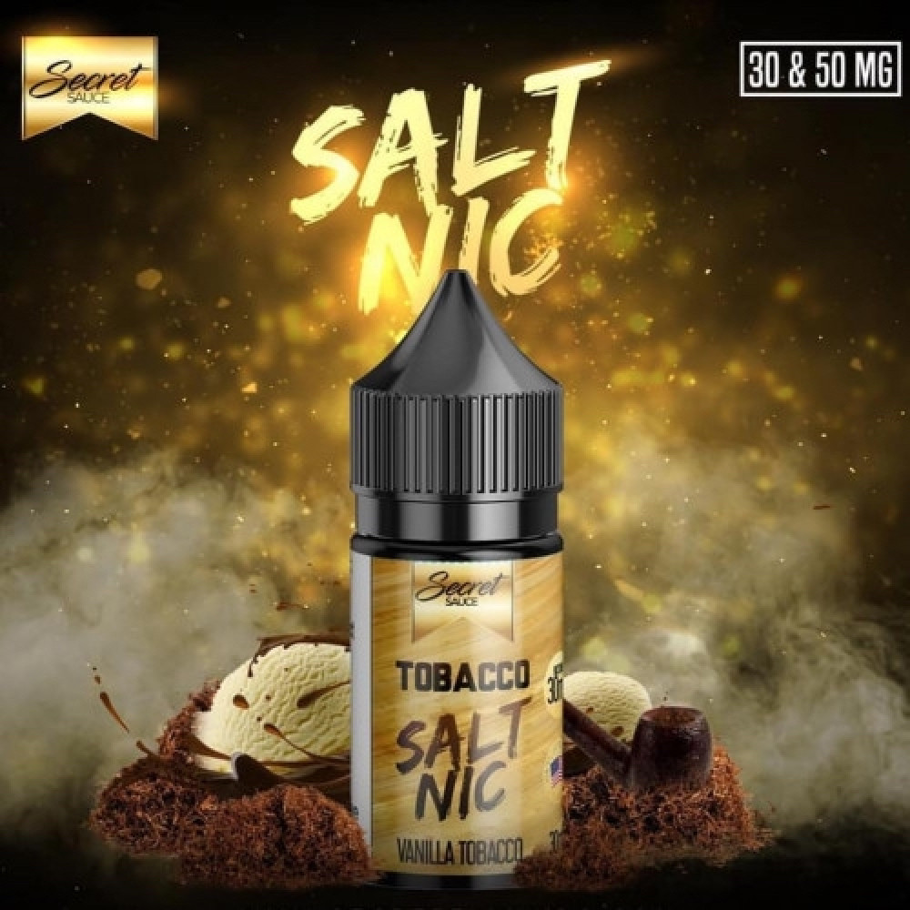 نكهة سيكرت سوس توباكو - سولت -Secret Sauce Tobacco Salt