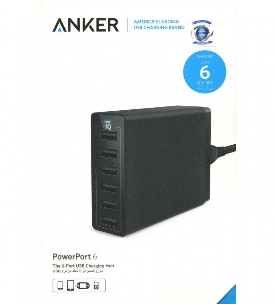 ANKER PowerPort6-انكر