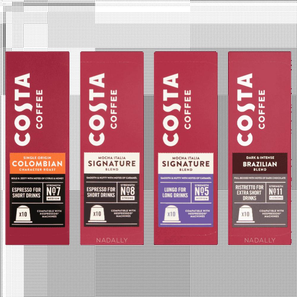 Costa nespresso capsules