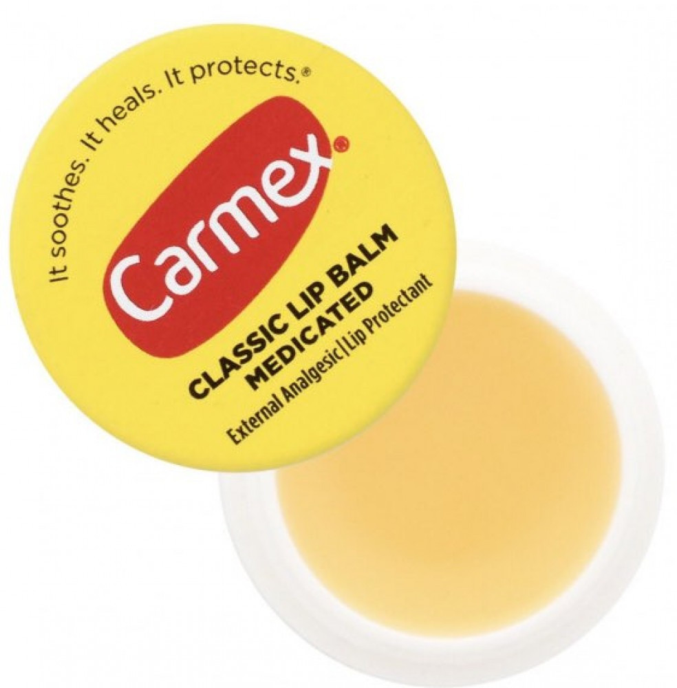 carmex مرطب الشفاه الكلاسيكي  افضل مرطب للشفاه