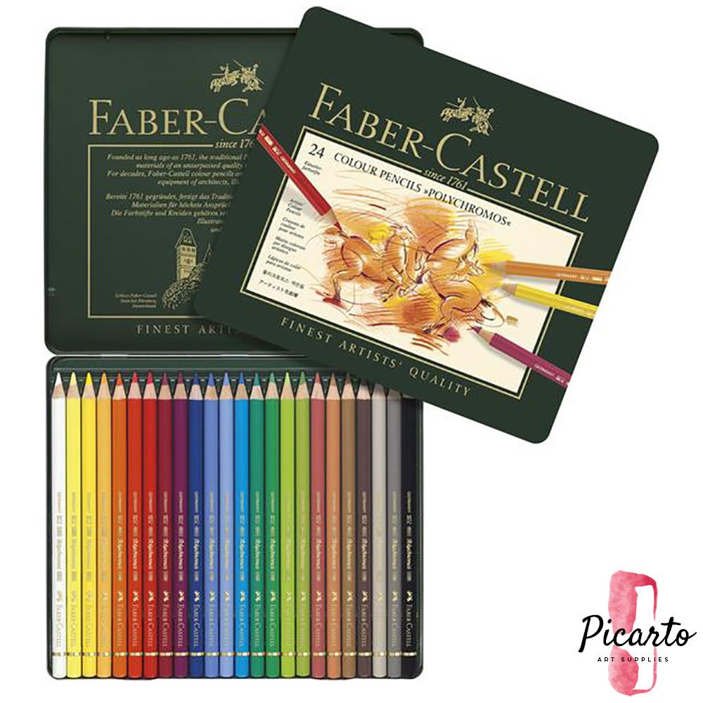 فيبر كاستل ـ 24 لون خشبي ـ Polychromos - بيكارتو