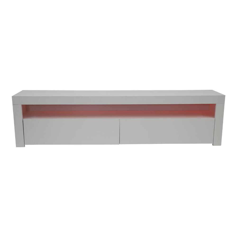 طاولة تلفاز خشبية ماركة NEAT HOME تضيئ بأكثر من لون من تجارة بلا حدود