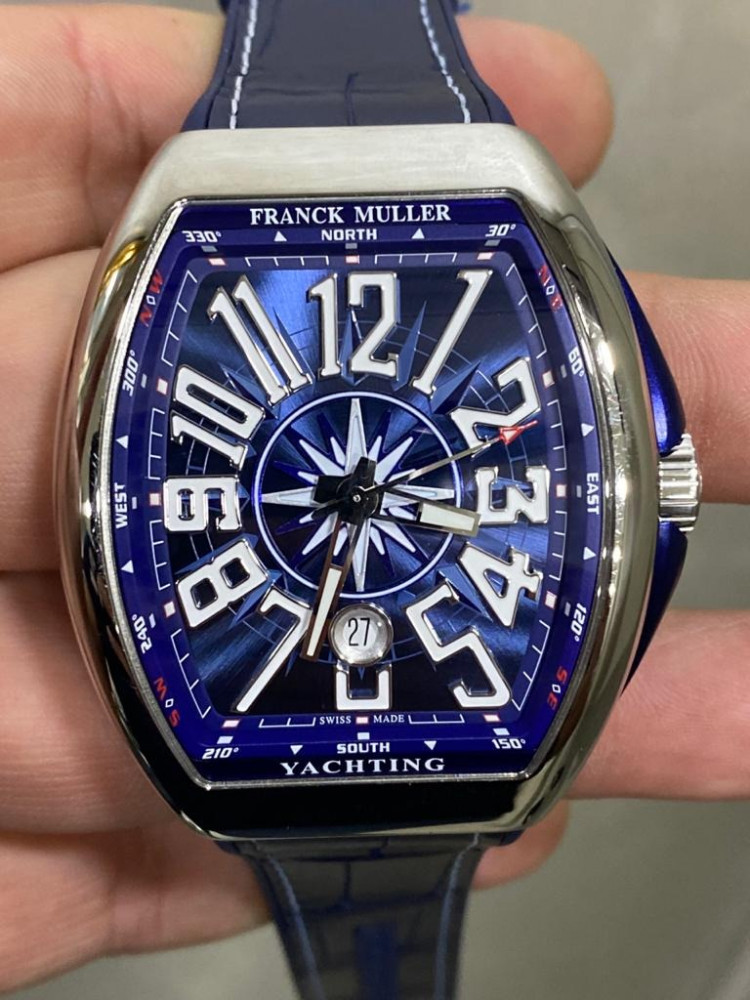 ساعة فرانك مولر الأصلية الثمينة جديدة تماما