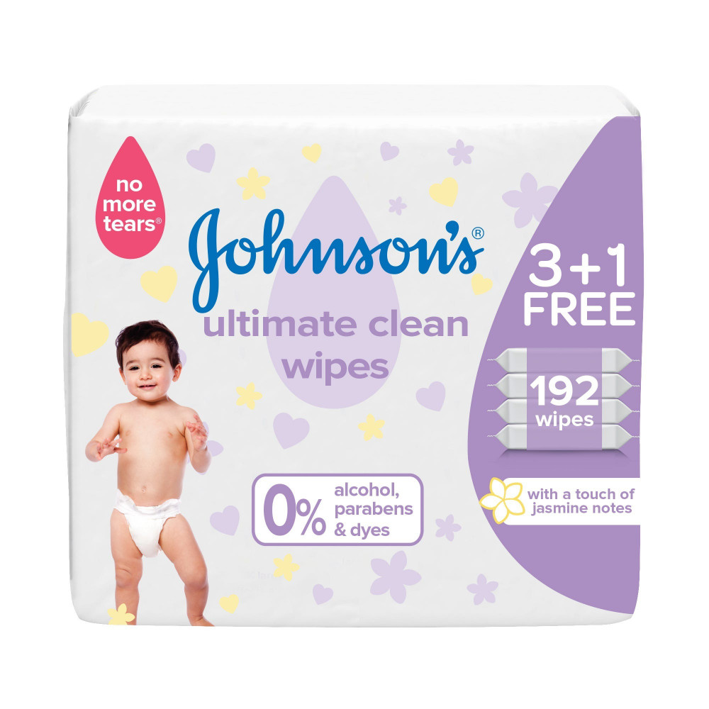 مناديل جونسون للاطفال