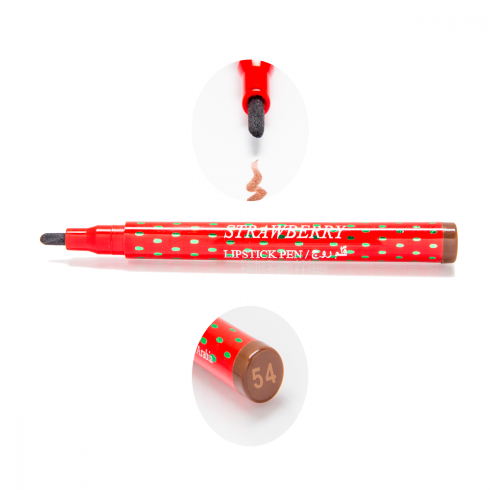 Strawberry Lipstick Pen No-54