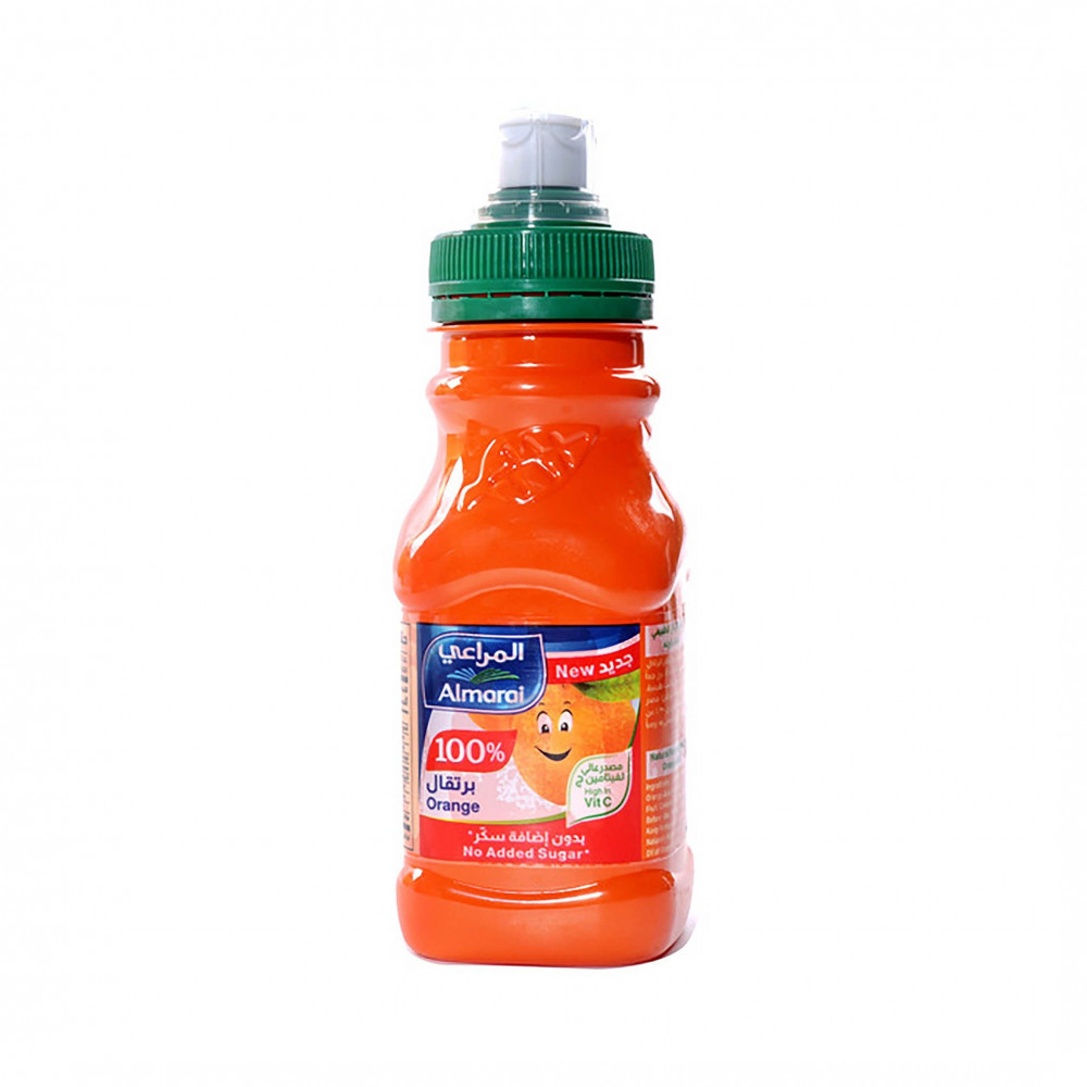 المراعي عصير برتقال بدون إضافة سكر 180مل سوق مقاضي