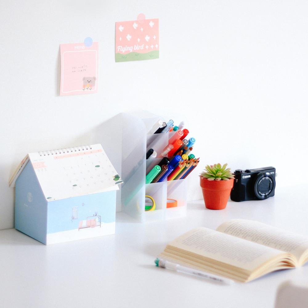 حامل أقلام متعدد الفتحات حامل أقلام للرسامين طريقة تنظيم المكتب