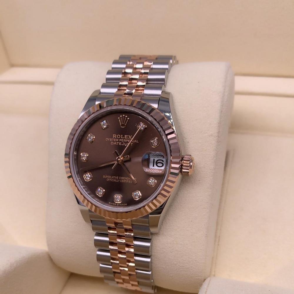 ساعة Rolex ديت جست أصلية فاخرة جديدة كليا 278271