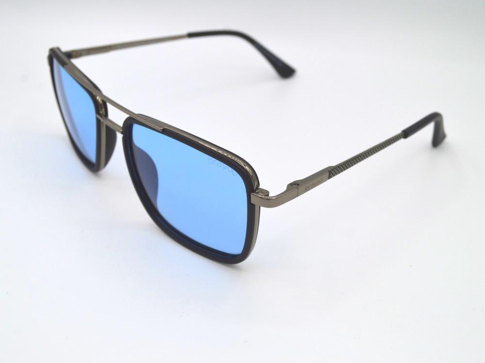 برافو Bravo نظارات شمسية رجالي - نسائي لون العدسة أزرق