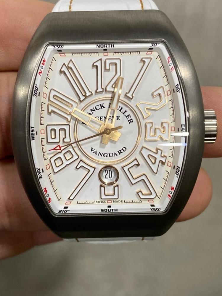 ساعة فرانك مولر الأصلية الفاخرة جديدة