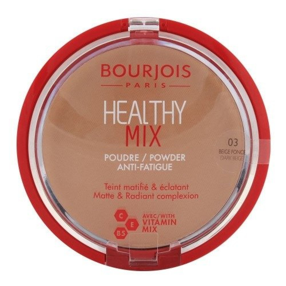 Bourjois Healthy Mix Powder No 03 Dark Beige 11g متجر خبير العطور