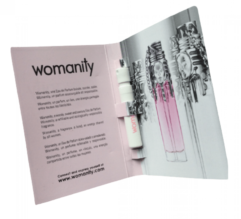 Mugler Womanity Eau de Parfum Sample 1-2ml خبير العطور