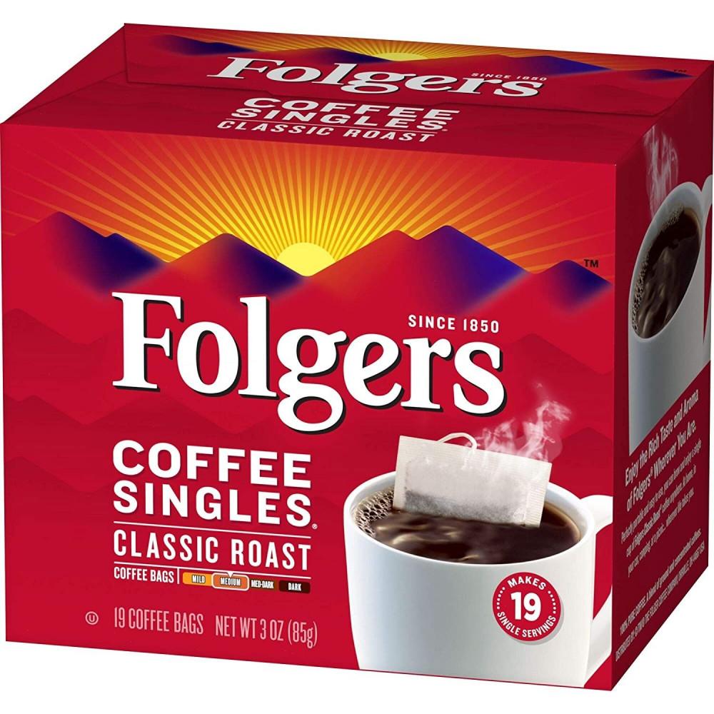 قهوة فولجرز اكياس