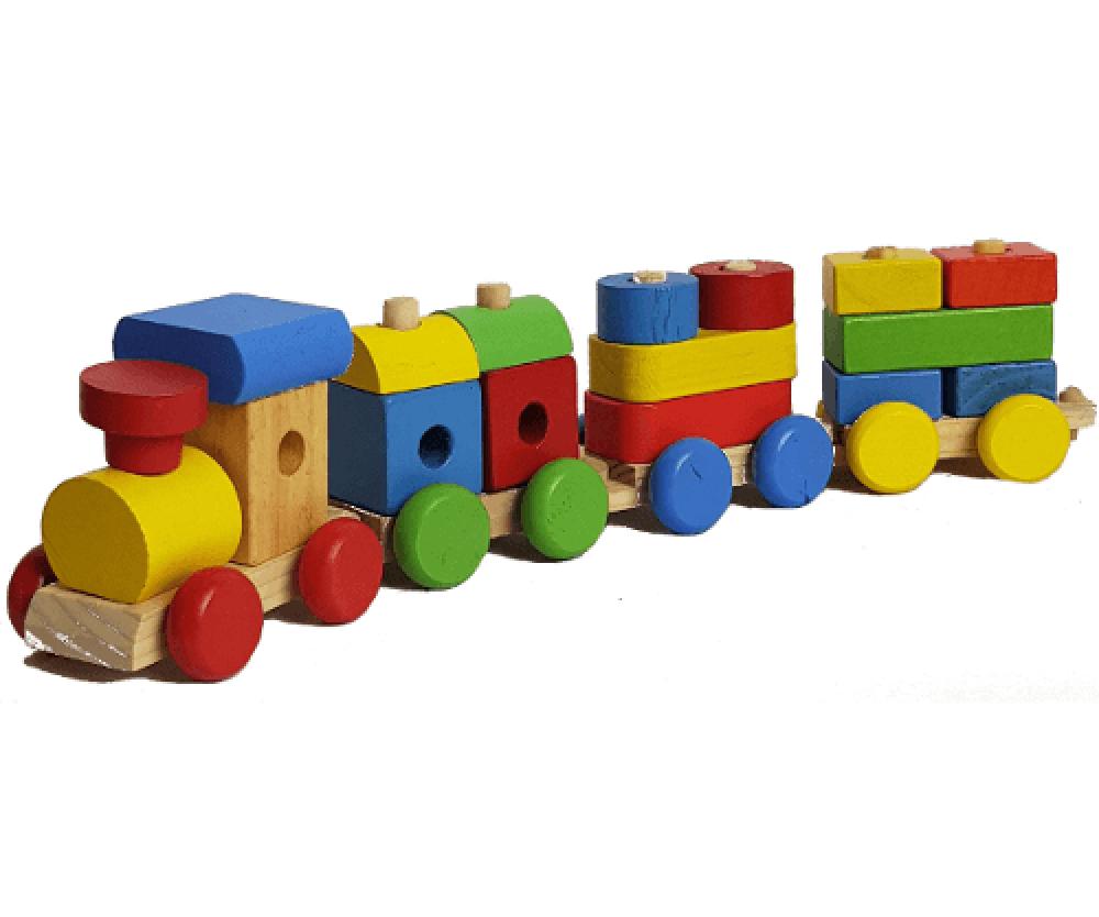 لعبة تركيب القطار