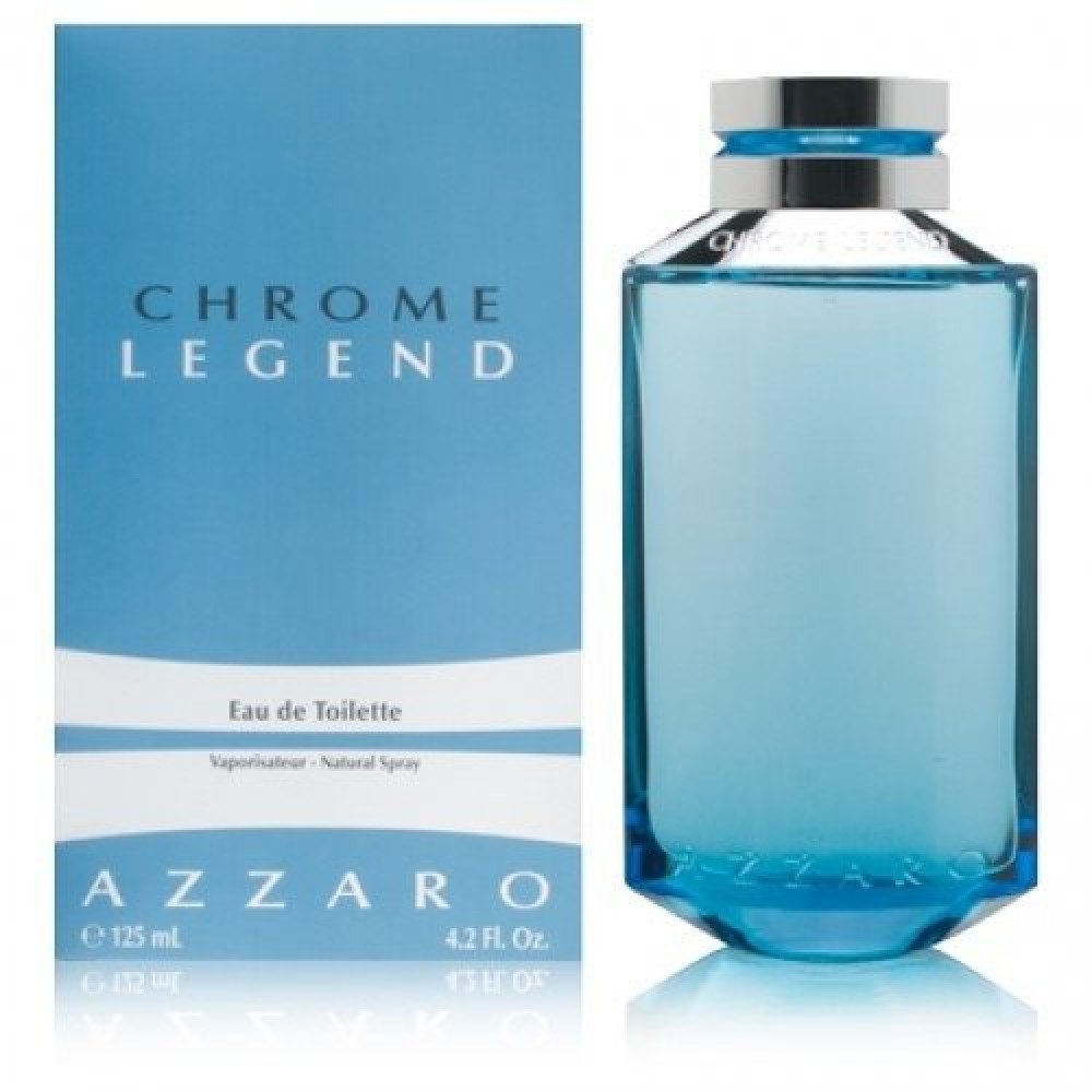 Azzaro Chrome Legend Eau de Toilette 125ml خبير العطور