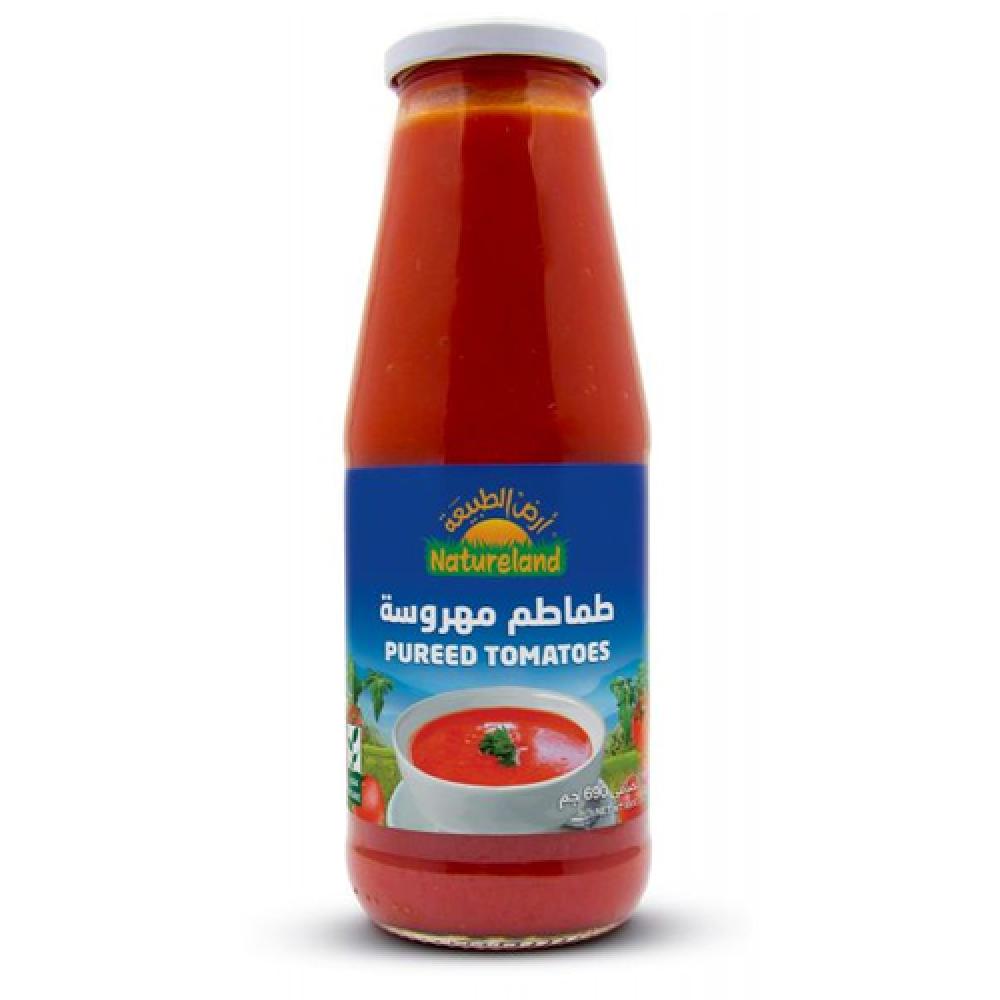 طماطم مهروسة عضوي 690 جرام