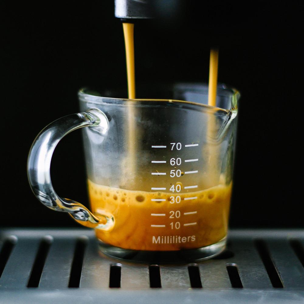 دبل شوت إسبريسو Espresso Shot Glass كوب معياري للإسبريسو كوب قهوة