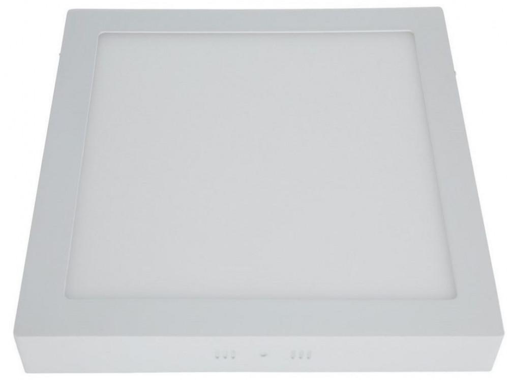 مصباح لد مربع بارز 30 شمعه 220فولت لون الإضاءة ابيض