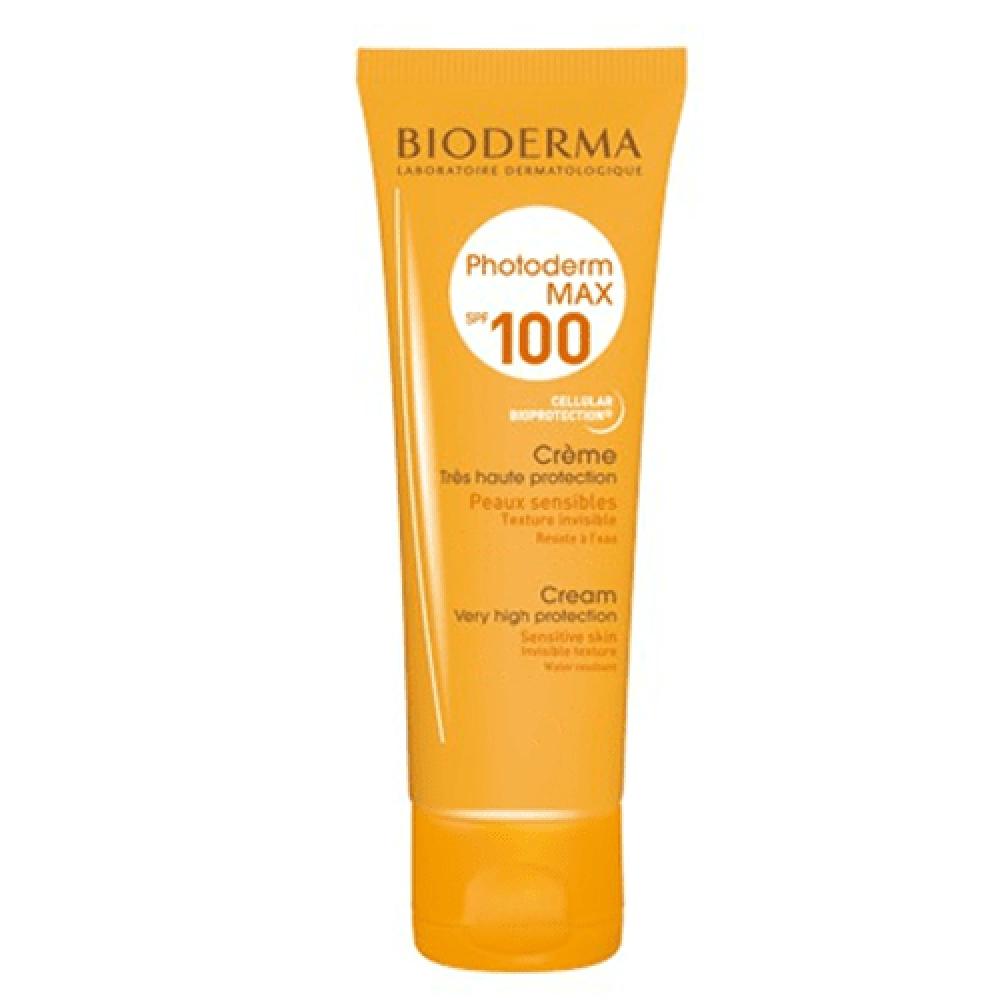 كريم عالي الحماية من الشمس فوتوديرم ماكس 100 SPF من بايوديرما