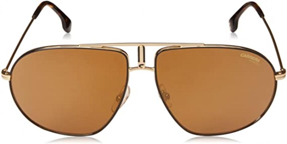 سعر نظارة كاريرا شمسية للرجال - شكل افياتور - لون ذهبي - زكي للبصريات