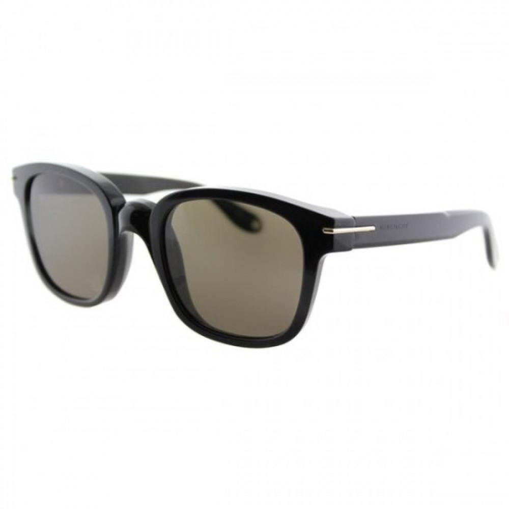 نظارة جيفنشي شمسية رجاليه - شكل مربع - باللون الأسود - زكي للبصريات