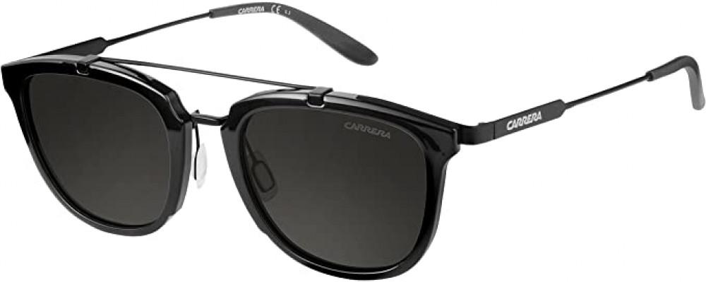نظارة كاريرا شمسية للرجال - شكل واي فيرر - لون أسود - زكي للبصريات