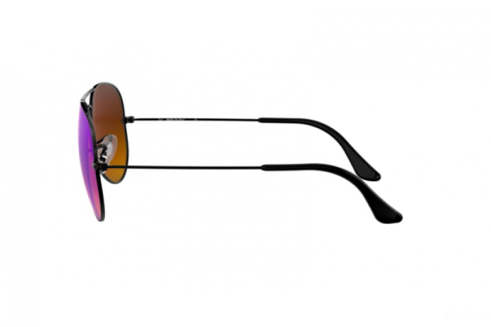 احسن نظارة ريبان شمسية رجاليه - افياتور - اسود - زكي للبصريات
