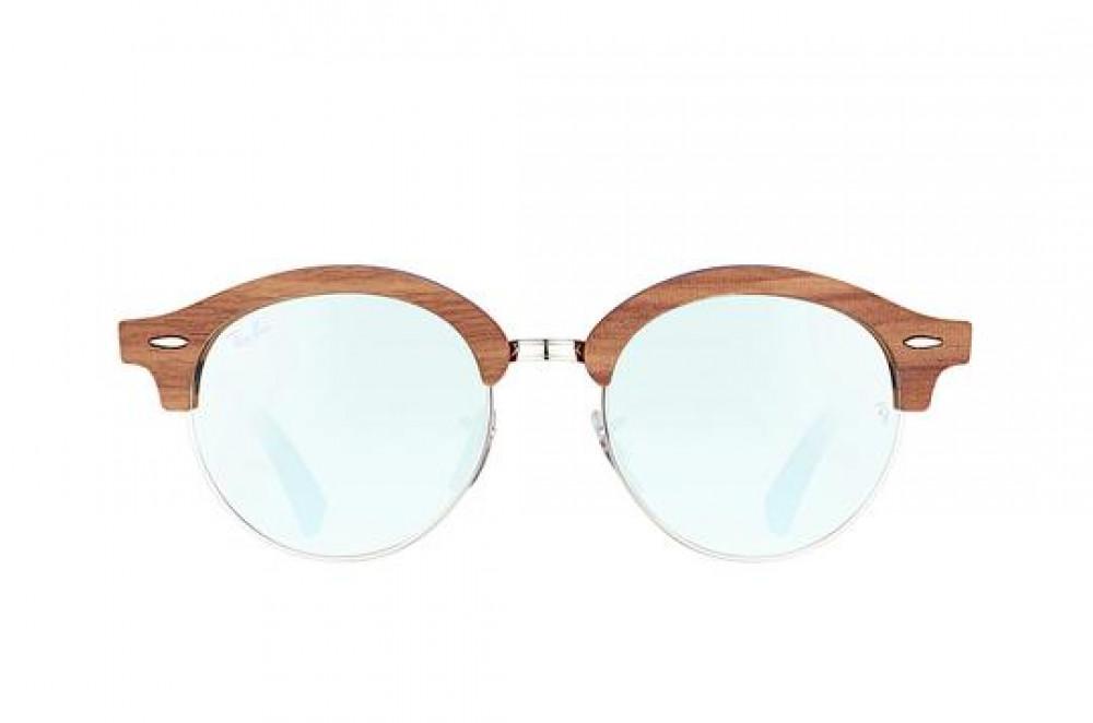 افضل نظارة ريبان شمسية للرجال -  لون بني - زكي للبصريات