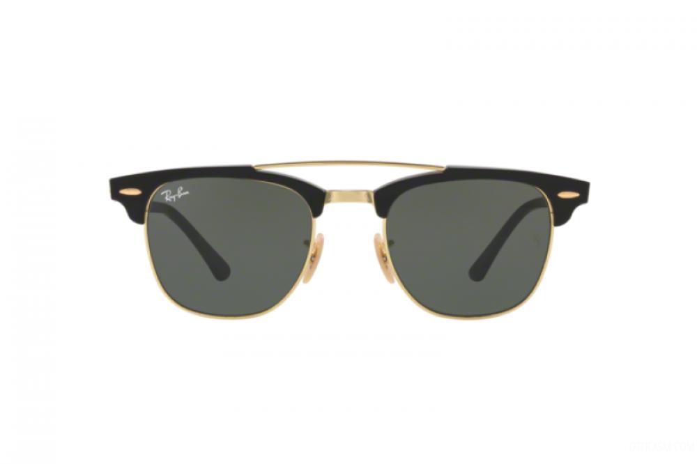 افضل نظارة ريبان شمسية للرجال - واي فيير لون أسود - زكي للبصريات