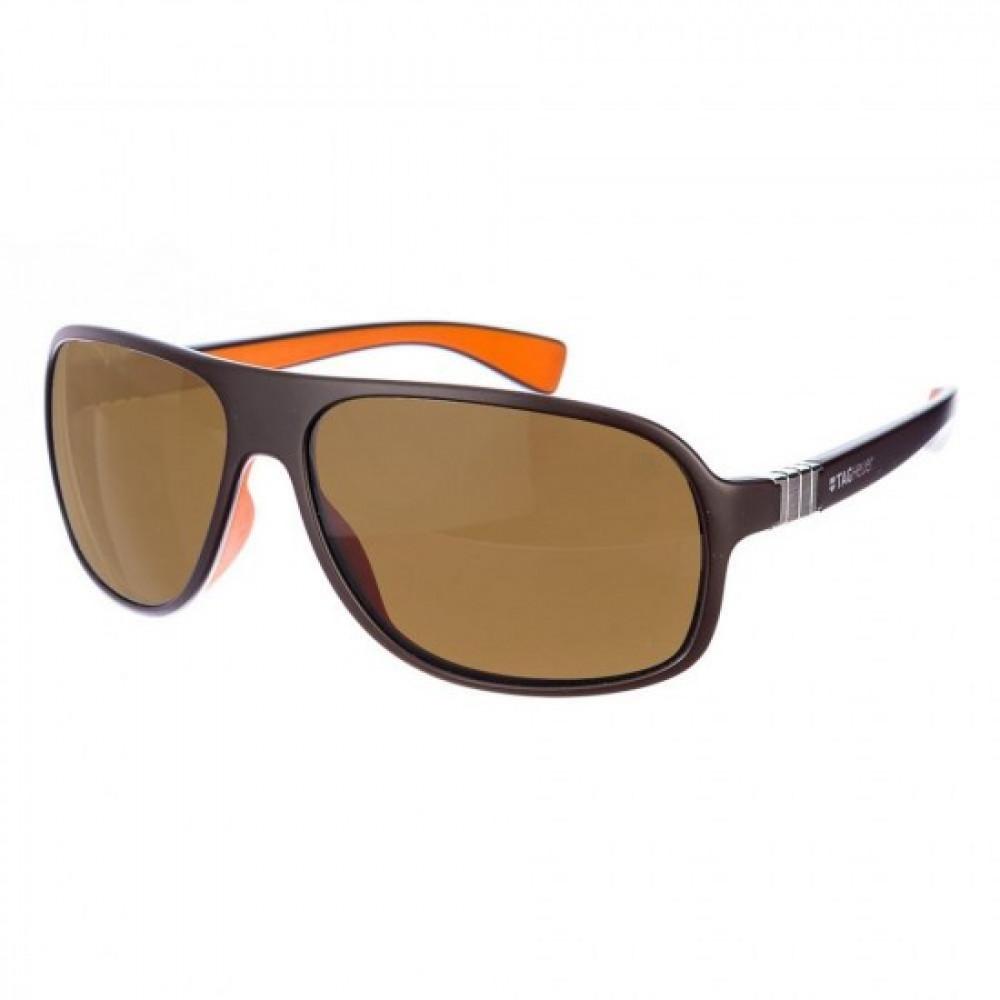 نظارات تاق هيور شمسية للرجال - لون بني - زكي للبصريات