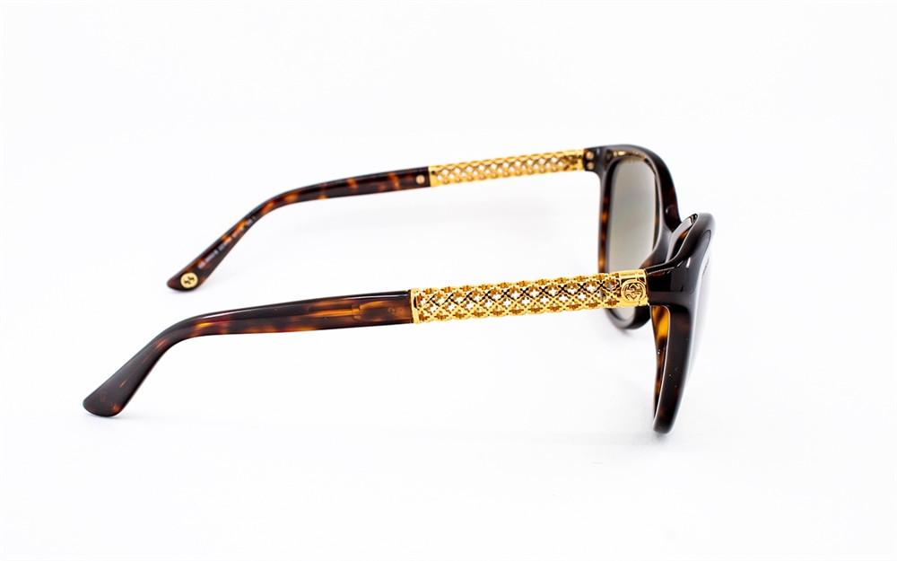 سعر نظارة قوتشي نسائي شمسية - شكل كات اي - لون تايقر - زكي للبصريات