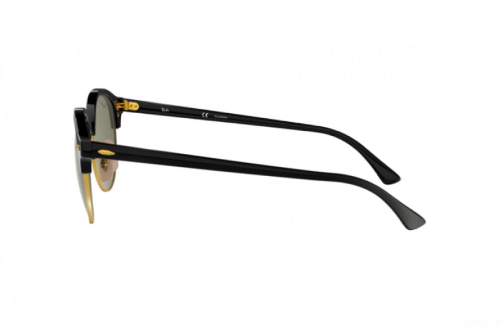 احسن نظارة ريبان شمسية للرجال -  أسود - دائرية - زكي للبصريات